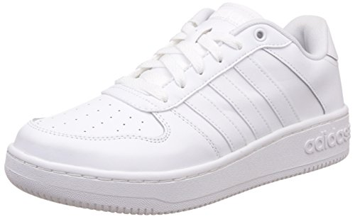 Adidas Team Court, Zapatillas para Hombre, Blanco (Ftwbla/Ftwbla/Plamat), 43 1/3 EU