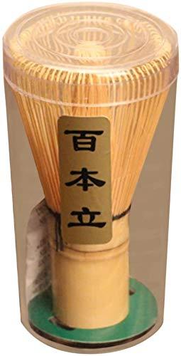 SHANGHh Bambus Chasen Japanischer Matchabesen aus Bambus mit Matcha Pulver Quirl Werkzeug Japanische Teezeremonie Zubehör