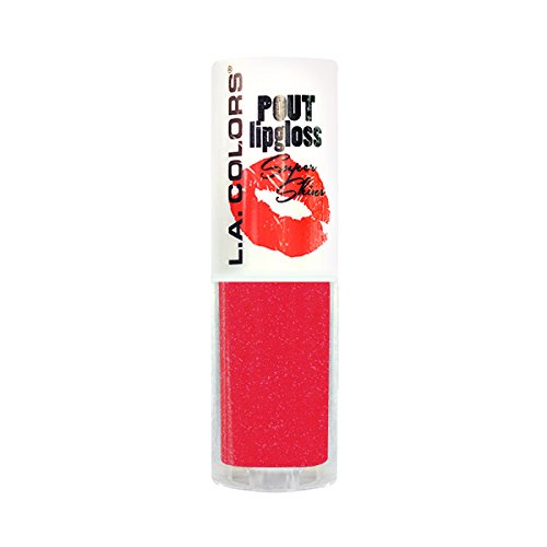 (3 Pack) L.A. COLORS Pout Super Shine Lip Gloss - Juicy