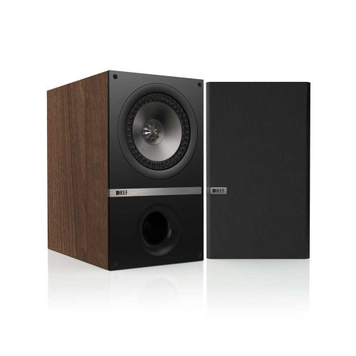 KEF Q300 - Lautsprecher (2-Wege, 2.0 Kanäle, 42 - 40000 Hz, 8 Ohm, Walnuss)