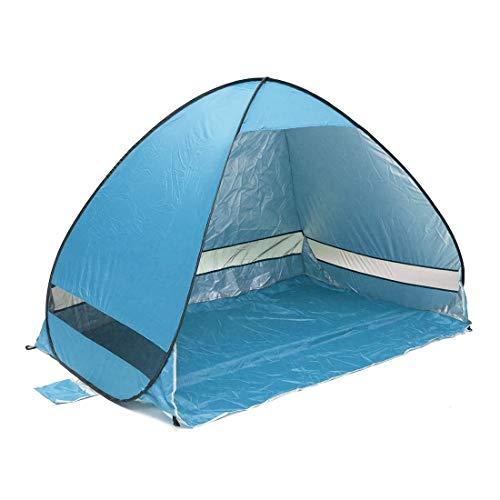 Ai-lir Event Zelt Größen: 2x1.2x1.3m, coldaway frei zum BAU von machineleichen Schnellgeschwindigkeit offener Outdoor Camping-Strandzelt mit Tragetasche für 2 Erwachsene oder 3 Kinder verwenden