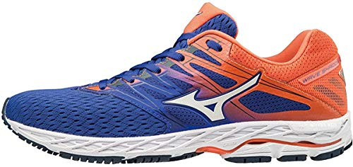 Mizuno Men Wave Shadow 2 Competition Running Shoe Running Shoes Blue - Orange 9,5
