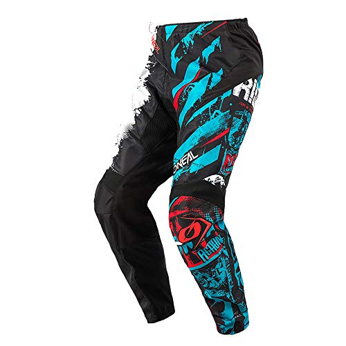 O\'NEAL | Motocross-Hose | Kinder | MX Mountainbike | Passform für Maximale Bewegungsfreiheit, Leichtes, Atmungsaktives und langlebiges Design | Pants Element Ride | Schwarz Blau | Größe 26