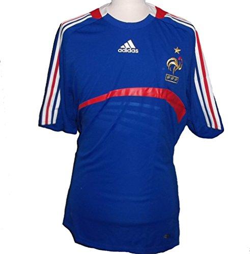 Adidas 620139 Frankreich FFF Home Trikot, Blue/Red (FFFBLUE98/FFFRED), Größe: L