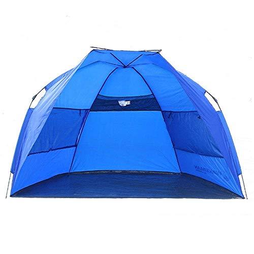 KEKEYANG Tent, De Gran tamaño 1-2 Personas Tienda de campaña al Aire Libre a Prueba de Agua del Refugio de protección Solar automática Playa Parasol Toldo Viajes Tiendas el Juego Cámping,