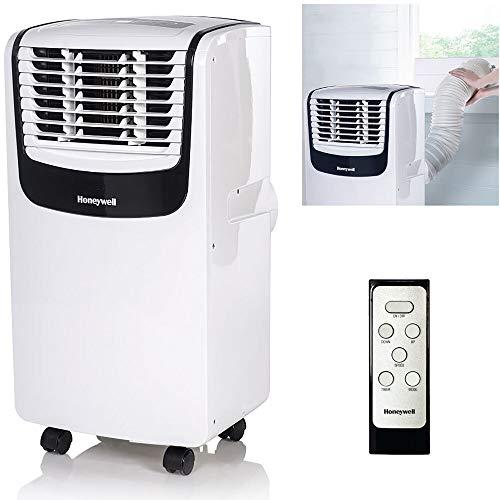 Honeywell MO08CESWK6 White/Black 8,000 BTU Portable Air Conditioner, 400 Sq. Ft