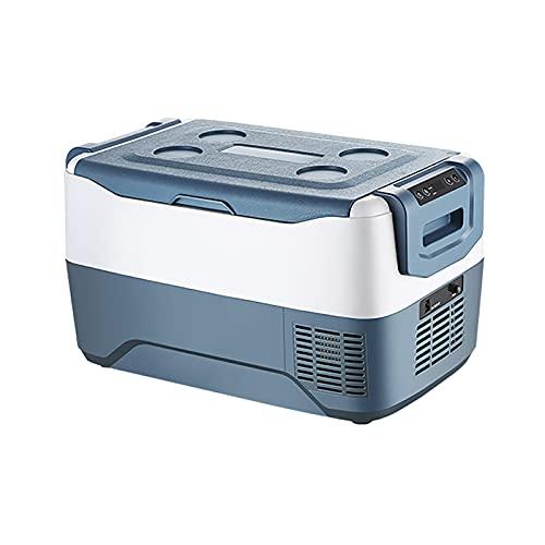 Nevera Compresor Portatil 30/40/50 Litros Refrigerador para Automóvil 12 / 24V Mini Congelador Camión Nevera Eléctrica para Camping, Conducción, Barco, Picnic y Viajes -18 ℃ a 10 ℃ / Bajo Consumo
