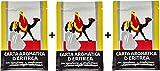 Casanova Carta d'Eritrea 180 Listelli biologici (3 Confezioni da 60) eliminano i cattivi odori, purificano gli ambienti, cartine da bruciare profumate