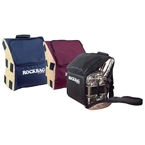 Akkordeon Rucksack Tasche Gigbag Deluxe 72 Bass schwarz / beige
