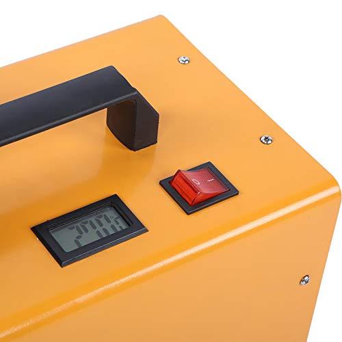 Demeras Bomba eléctrica 30MPa Bomba de compresor de Aire de Alta Seguridad para neumáticos(220V European Standard, Polar Animals)