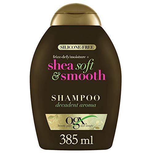Ogx Frizz Defy Moisture Plus Shea Soft and Smooth Shampoo, 385 ml