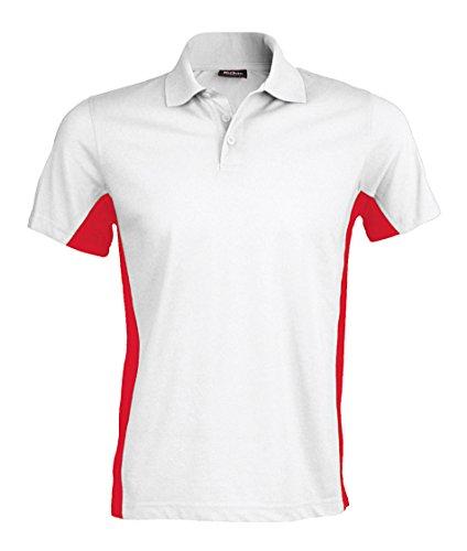 Kariban - Polo - Homme - Blanc - XXL
