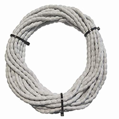DewTec Bleiband - 6m - 50g/m, Weiß - Bleikordel, Bleischnur, Beschwerungsband, Gardinenbeschwerung