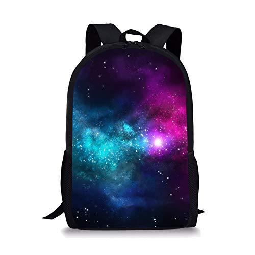 POLERO Galaxy Universum gedruckte große Coole Schule Tasche Nette Kinder Durable Personalisierte Rucksack Bookbags