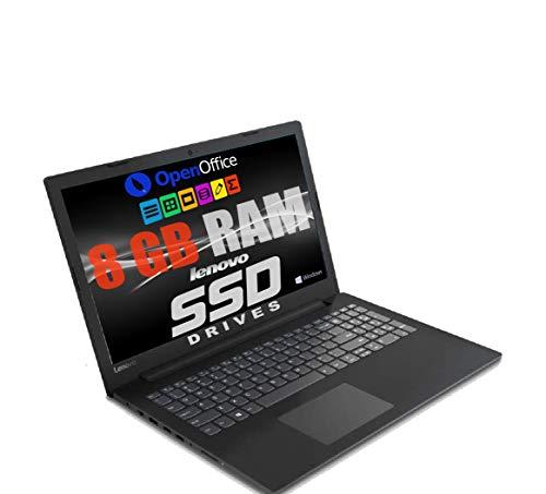 Notebook Pc Portatile Lenovo Led da 15.6    Cpu Amd A4 2.30GHz   Ram 8Gb Ddr4   Ssd 480gb   Grafica Radeon R3   Hdmi   Masterizzatore   Wi fi   Bluetooth   Office Open surce   Windows 10 professional