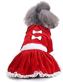 Pet Dog Clothing KARIDUN Elk Skirt XL Winter Christmas Dog Supplies Wacky Creative Dog Vest Sweater Pajamas Cap Coat (Christmas elk skirt suit, XL)