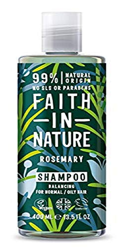Faith in Nature Champú Natural de Romero, Equilibrante, Veg