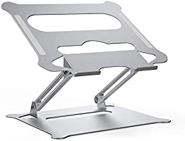 Laptop Notebook Stand, Foldable AdjustableMulti-Angel Laptop Rack Aluminum Laptop Riser Ergonomic Desktop Holder for...