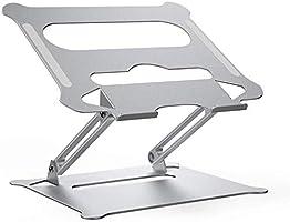 Laptop Notebook Stand, Foldable AdjustableMulti-Angel Laptop Rack Aluminum Laptop Riser Ergonomic Desktop Holder for...