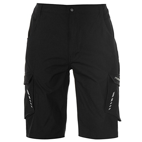Muddyfox Mens Mountain Bike Shorts Black L