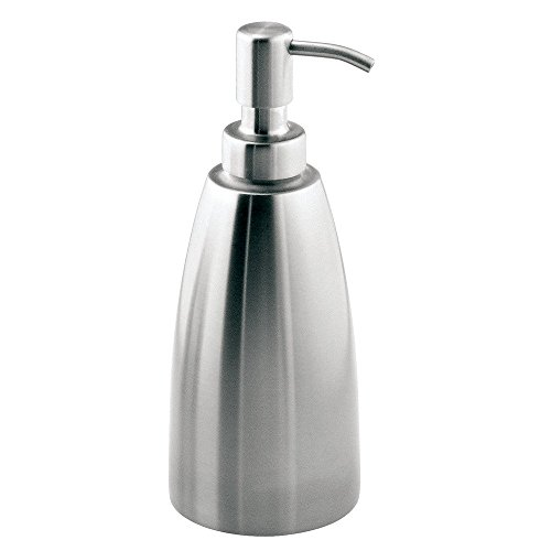 InterDesign Forma Seifenspender für Küche, Bad - Edelstahl Gebürstet