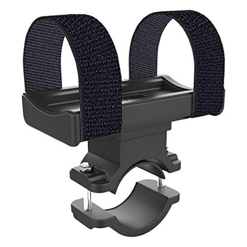 BESPORTBLE Fahrrad Taschenlampenhalter Fahrrad Taschenlampe Clip Fahrradhalterung Taschenlampenhalter (Schwarz)