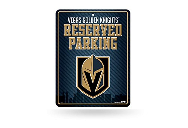 飛ぶ繰り返す沈黙ラスベガスGolden Knights NHL予約駐車場サイン( 8?1?/ 4?x 11?)