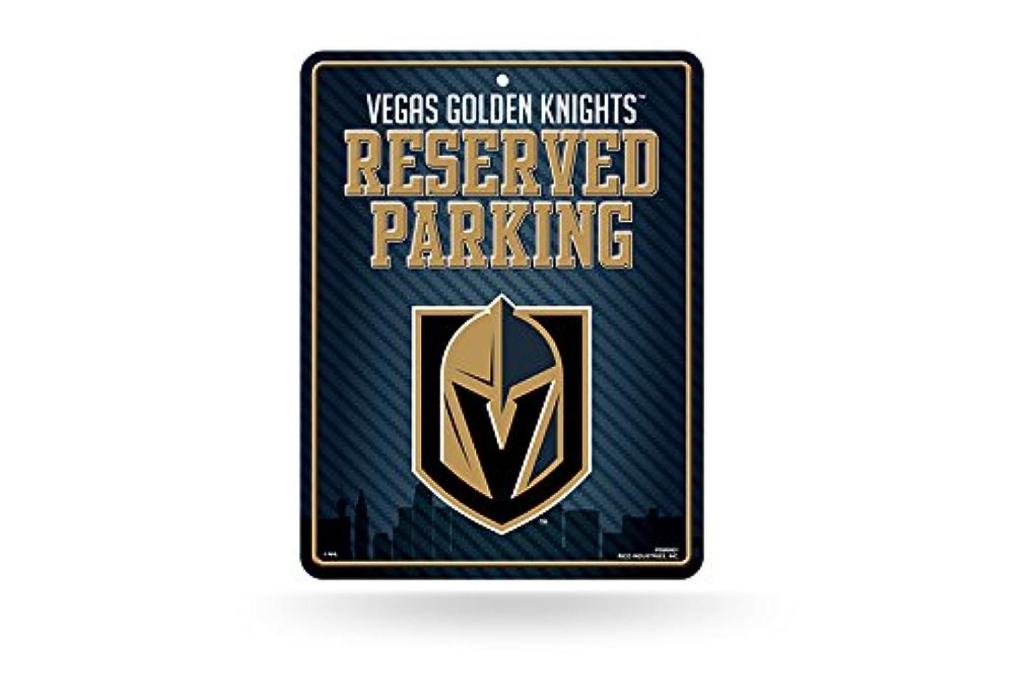 エキゾチック予約たぶんラスベガスGolden Knights NHL予約駐車場サイン( 8?1?/ 4?x 11?)