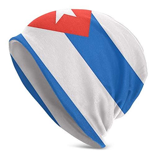 Kubanische Flagge Beanie Mütze Cap Winter Caps Hüte Cuffed Plain Skull Cap für Männer Frauen Weihnachten