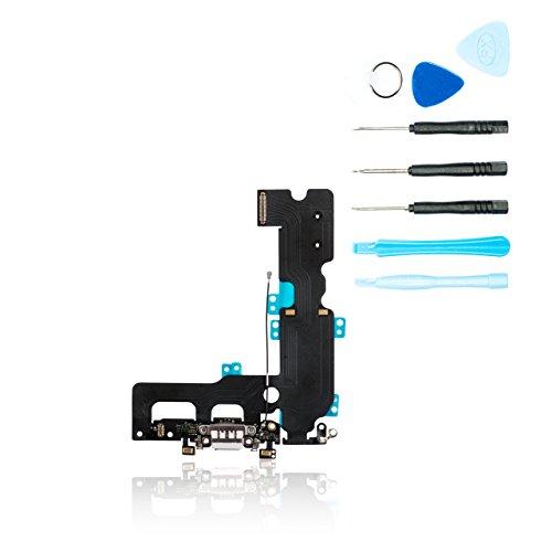 teparto Dock Connector für iPhone 7 Plus weiß - USB Ladebuchse mit Werkzeugset