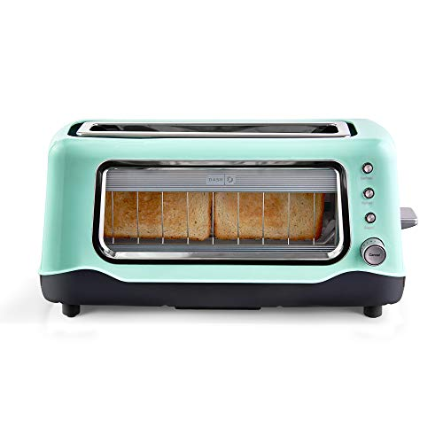 Dash Clear View Toaster: Extra Wide Slot Toaster with...