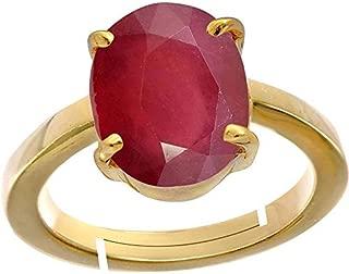 ruby copper ring