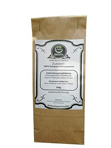 100g Guayusa Tee - von GuayuTea | Fair & Nachhaltig | Dein Energieschub |