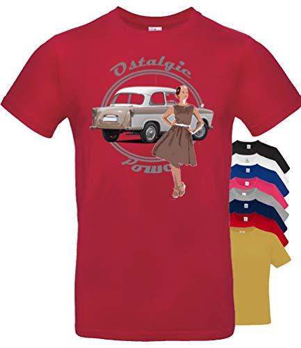 BuyPics4U T-Shirt mit Motiv Trabant Tr21 100% Baumwolle für Herren Damen Kinder viele Farben