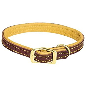 Weaver Leather Deer Ridge Collar 5/8 x 13-Inch Brown