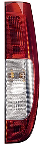 HELLA 2SK 964 596-021 Piloto posterior - Tecnología de lámparas incandescentes - transparente/rojo - derecha