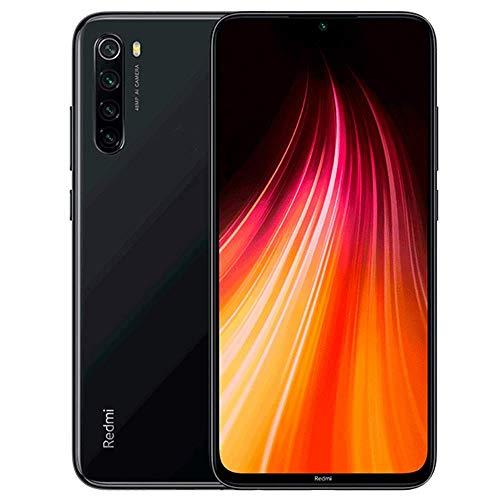 Xiaomi Redmi note 8 RAM 3GB/4GB + ROM 32GB/64GB/128GB (microSD対応最大128GBまで) 6.3インチ 4800万画素+1300万画素カメラ 4000mAh大容量バッテリー搭載 18W 急速給電 Nano SIM+Micro SDサポートマートフォン本体 グローバル版 ヨーロッパーチャージャー USチャージャー付き (日本語対応・Googleアプリ対応) (ブラック, 4GB+64GB)