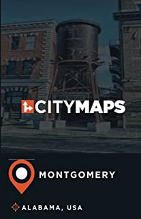 City Maps Montgomery Alabama, USA