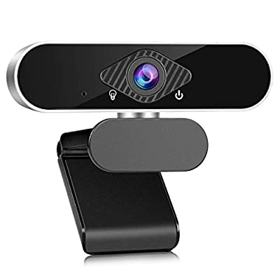 Webcam with Dual Microphone,1080P HD Streaming ...