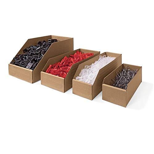 Pack de 50 Bacs de Stockage à Bec 300x50x110 - TIGGRE.FR
