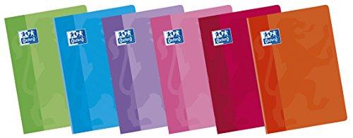 Oxford Classic 100105713 - Pack de 10 libretas grapadas de tapa blanda, A5+ 🔥