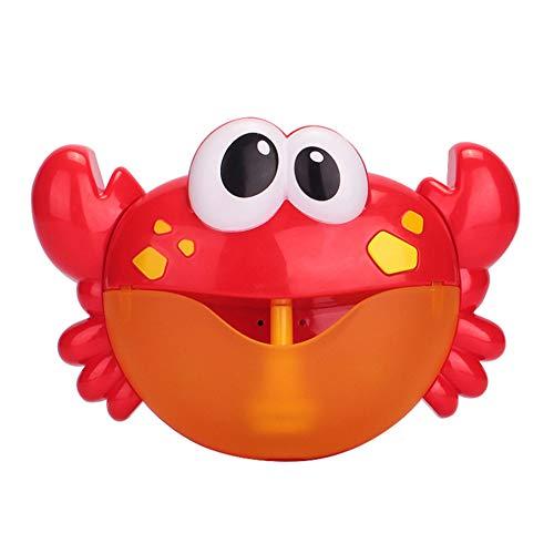 ROKOO Krabben-Blasen-Hersteller-automatisierte Tüllen-Blasen-Maschine mit Kinderreim-Bad-Duschen-Spielzeug für Kinder