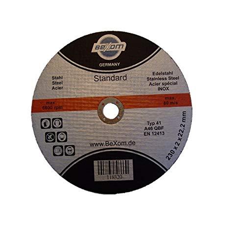 Olbrich-Industriebedarf Trennscheibe 230x2 mm 10 Stück INOX, Edelstahl & Stahl, Metall, Eisen