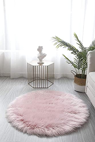 A-Generic Faux Imitation Schaffell Teppich Ultra Soft Plüsch Extra Große Größe Teppiche Wohnzimmer Shaggy 7cm Flauschige Stapel Moderne Bereich Teppiche