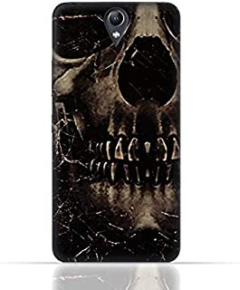 Lenovo Vibe S1 Lite TPU Silicone Case With Dark Skeleton Pattern Design.