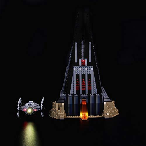 LIGHTAILING Conjunto de Luces (Star Wars Castillo de Darth Vader) Modelo de Construcción de Bloques - Kit de luz LED Compatible con Lego 75251 (NO Incluido en el Modelo)