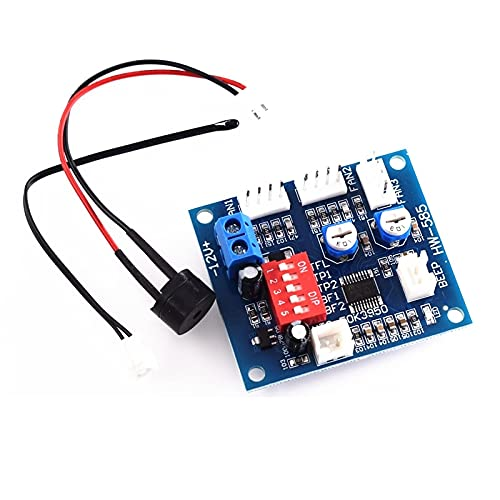 ndliulei 1PCS DC 12V PWM PC CPU Ventilador Control de Temperatura Controlador de Velocidad Tablero 5 * 4.3cm