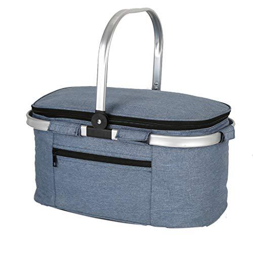 Lunch tas Geïsoleerde Trolley Cooler Bag voor Mannen Vrouwen Volwassenen Zachte grote rugzak voor Winkelen BBQ