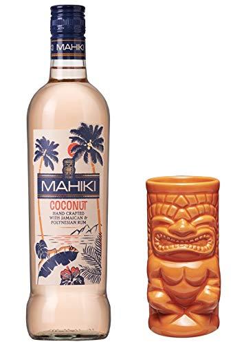 MAHIKI Coconut Rum 0,7 Liter incl. gratis Tiki Becher orange PiHaMi®