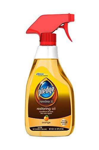 Pledge Revive It Restoring Oil, Orange 16oz (3-Pack, Packaging May Vary)